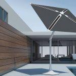 SunFlower, un parasol connecté dans votre jardin