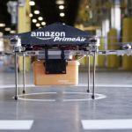 Amazon, des drones lancés depuis un train vont-ils bientôt livrer nos colis ?