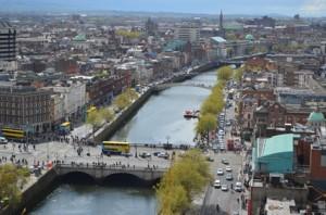 Dublin City Scape