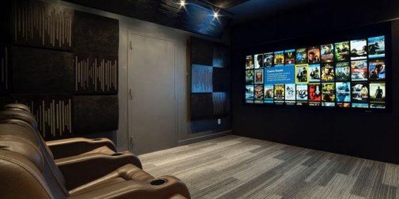Realiser une salle de cinema chez soi