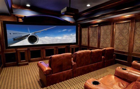 home cinema luxueux