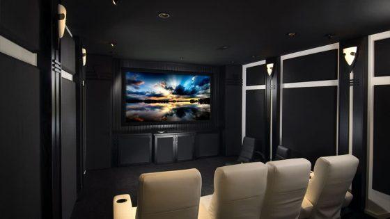 salle de cinema à la maison