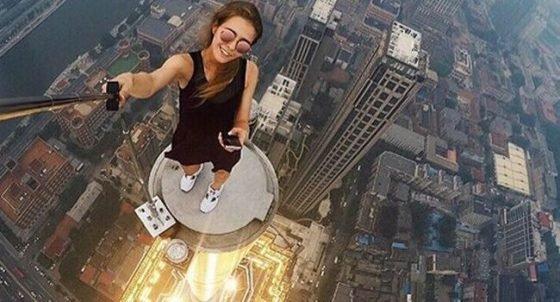 Selfie dangereux