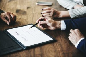 signature contrat de mariage
