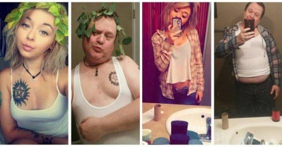 selfies et vie preivée