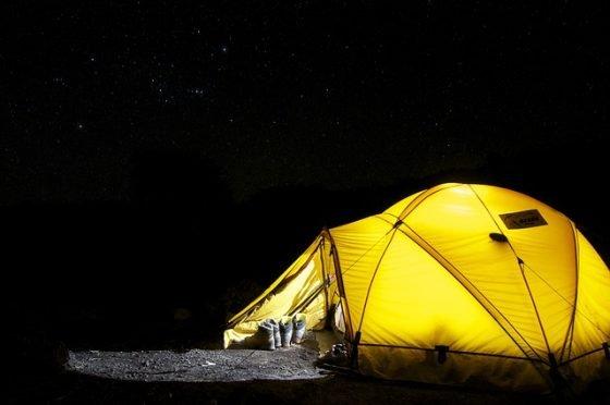 Le camping est idéal pour tous les budgets