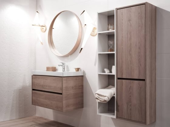 poubelle encastrable salle de bain